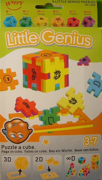 4 stk. ens Little Genius - 6'er pakke