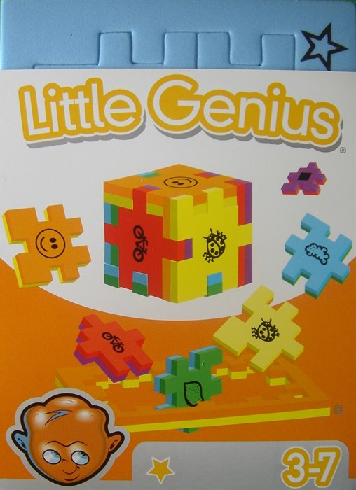 Blå Little Genius - Natur