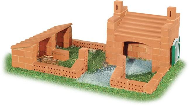 teifoc 8010 bygges t byg borg og hus med mini mursten leget j fra captoy. Black Bedroom Furniture Sets. Home Design Ideas