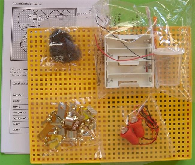 Elektricitet første kredsløb legetøj fra captoy650