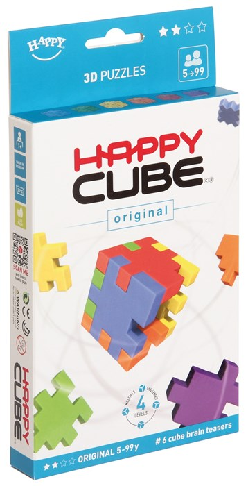 Happy Cube - 6'er pakke