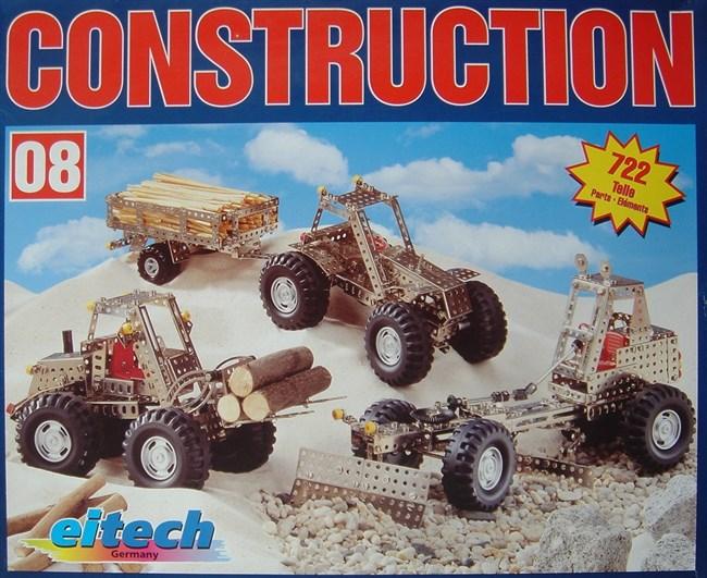 Billeder af stort sæt bygning af traktor m m