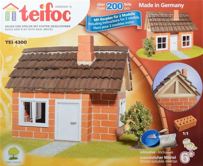Billeder af byg et hus med mini-mursten